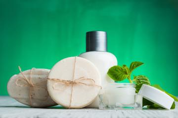 Natural Cosmetics Spa setting