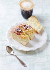 Crumb Cake with Espresso Macchiato