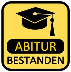 Abitur bestanden