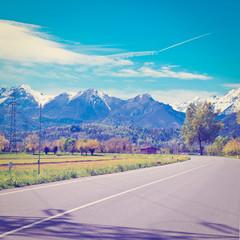 Road in Piedmont