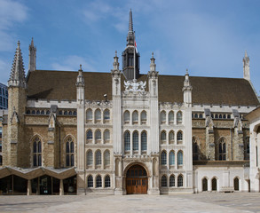 Guildhall in the City of London, England