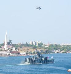 Day military marine sea fleet of Russia