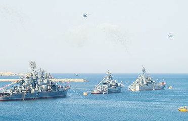 military marine sea fleet of Russia