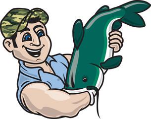 Noodling / Hillbilly Fishing