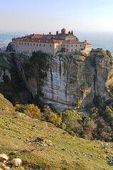 meteora churches in greece - trikala