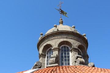 Portugal - Vila Nova de Gaia - Dome du Monastère Serra do Pilar