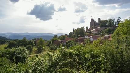 Burg Hahnstein - Totale