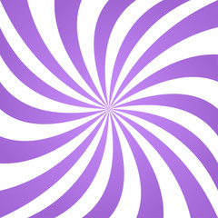 Lavender color twisted ray design