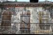 canvas print picture - Verlassenes Haus