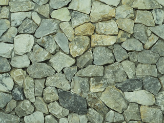 pebble stones background. closeup of stones texture