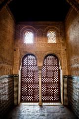 Puerta de la Alhambra de Granada. Salón de Embajadores.