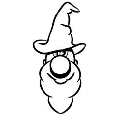 zauberer zauberhut süss