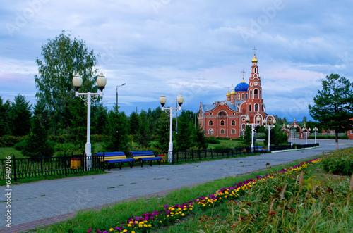 Cathedral of St. Vladimir Novocheboksarsk.