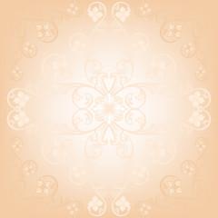 tender beige floral background