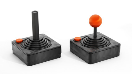 Vintage joysticks