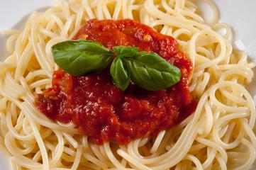 italienische Spaghetti