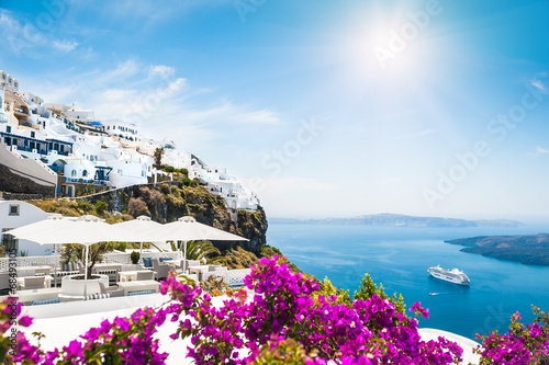 Santorini island, Greece - 68493105