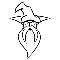 zauberer Zauberhut GRIMMIG