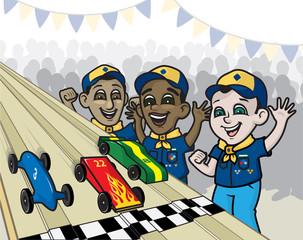 Pinewood Derby Race