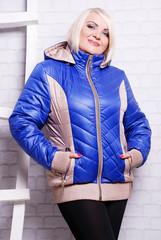 стильная, теплая  куртка