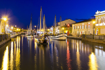Cesenatico, Italy, fishing harbor designed by Leonardo da Vinci