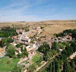 View from Alcazar of Segovia, Church de la Vera Cruz