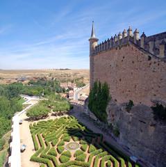 Spain, Segovia, Alcazar Gardens