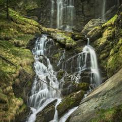 season waterfall in Italy