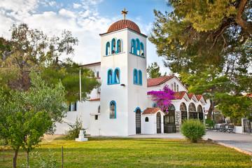 Hanioti orthodox church  on Kasandra, Greece.