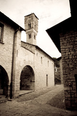 Ossuccio church, Italy