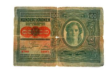Hundert Kronen_Österreichisch-Ungarische Bank