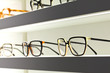 Glasses in an optical shop - 68501920