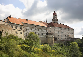 Castle Nachod. Czech republic