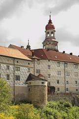 Castle Nachod. Czech republic