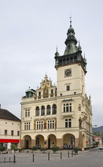 Town hall in Nachod. Czech republic