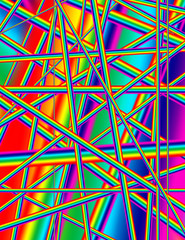 Abstract rainbow colored background image