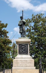 Confederate Soldier Memorial Wilmington North Carolina