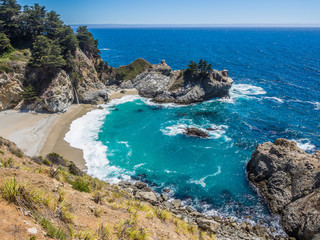 mcWay Falls, Big Sur on Highway1, CA, USA
