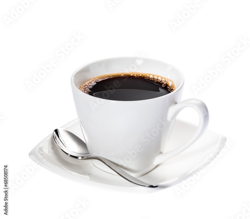 Foto op Canvas Koffie Isolated Coffee