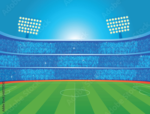 Soccer stadium - 68508563