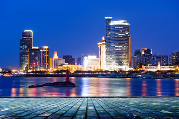 China Xiamen night scene