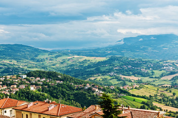 San Marino landscape.