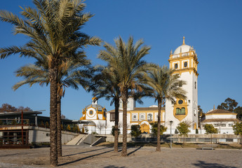 Glorieta de Buenos Aires in Seville, Spain