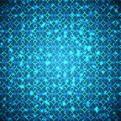 яркие синие вспышки на синем фоне