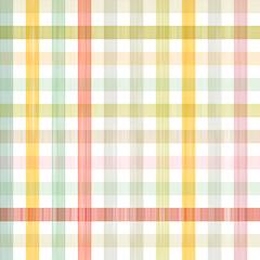 Retro Square Tablecloth Seamless Pattern