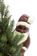 Tannenbaum und Weihnachtsmann