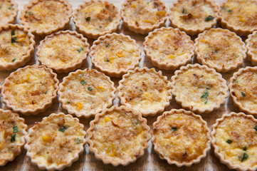 Little Ham And Cheese Tarts Recipe