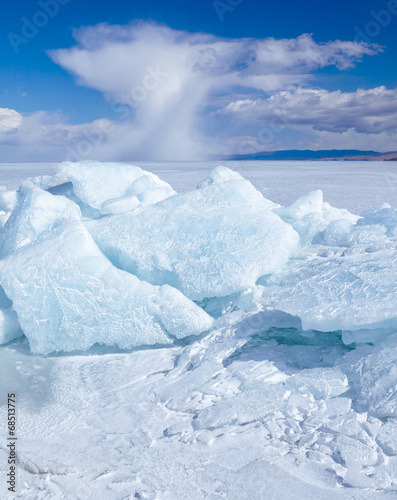 Foto op Canvas Antarctica 2 Winter Baikal