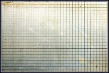 Grunge graph paper texture background