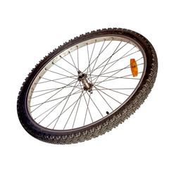 Bicycle wheel isolated
